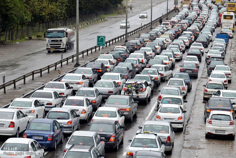 افزایش ۱۵ درصدی تردد خودروها با ورود مسافران تعطیلات عیدفطر به استان همدان