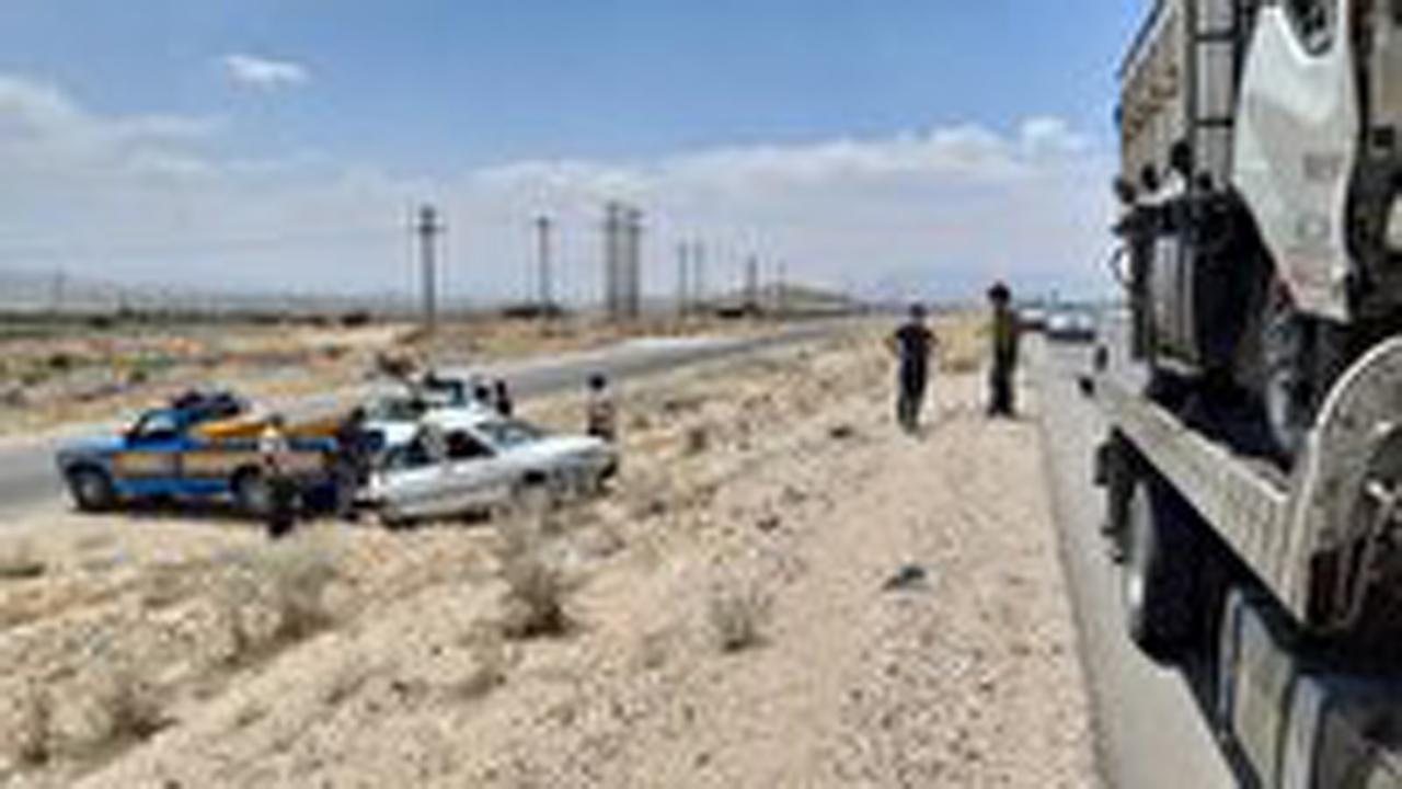 تصادف خونین در محور داراب به جنت شهر