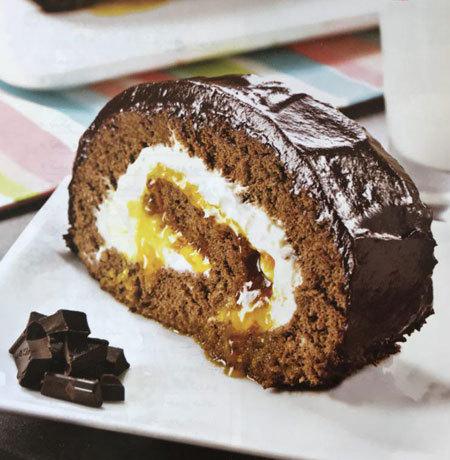 طرز تهیه رولت شکلاتی خوشمزه در منزل
