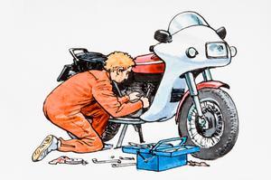 استخدام تعمیرکار موتورسیکلت در یک شرکت معتبر