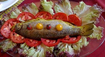 طرز تهیه ماهی آزاد با سس تند