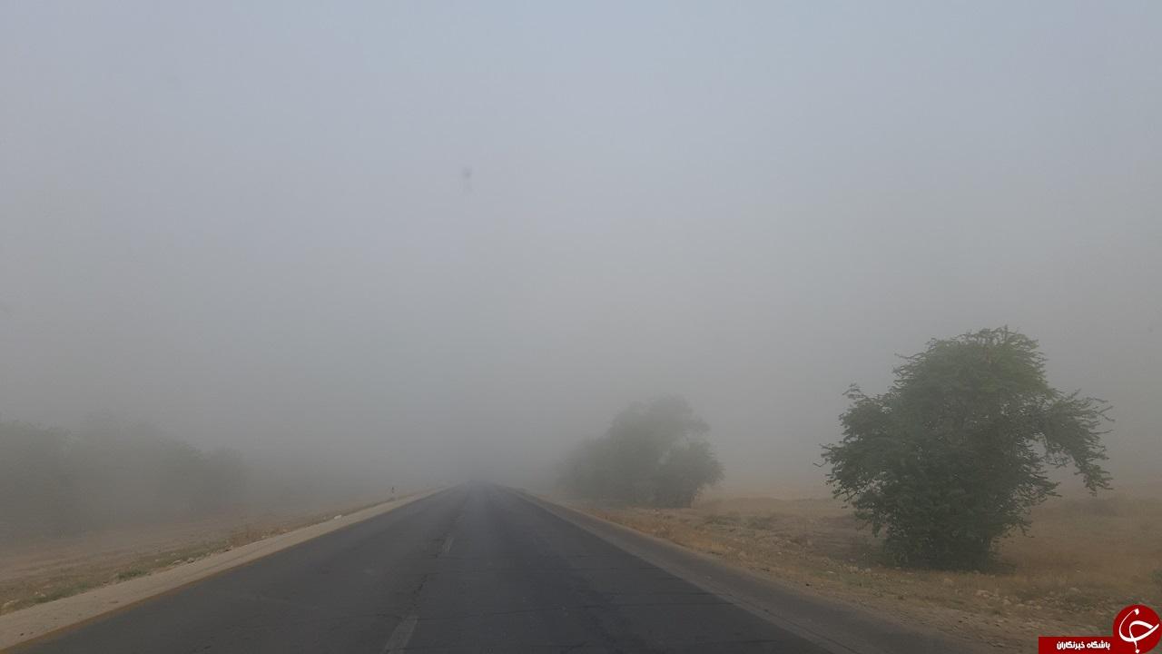 مه غلیظ صبحگاهی در برخی مناطق استان بوشهر