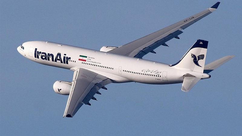 پرواز های جمهوری اسلامی ایران