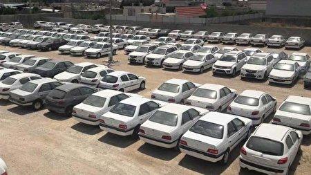 کشف خودروهای احتکار شده این بار بیخ گوش ایران خودرو
