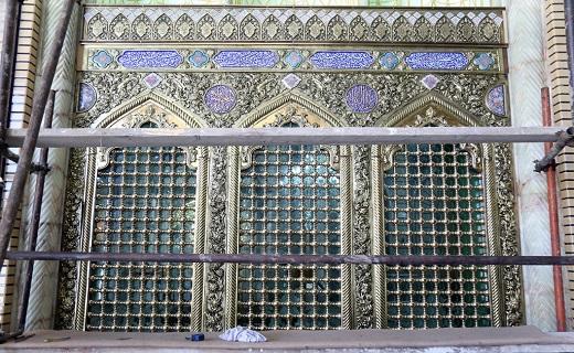 پنجره فولاد حرم حضرت معصومه (س) بازسازی شد