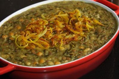 طرز تهیه آش خوزستانی خوشمزه