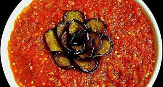 خوراک گوجه مخصوص و خوشمزه