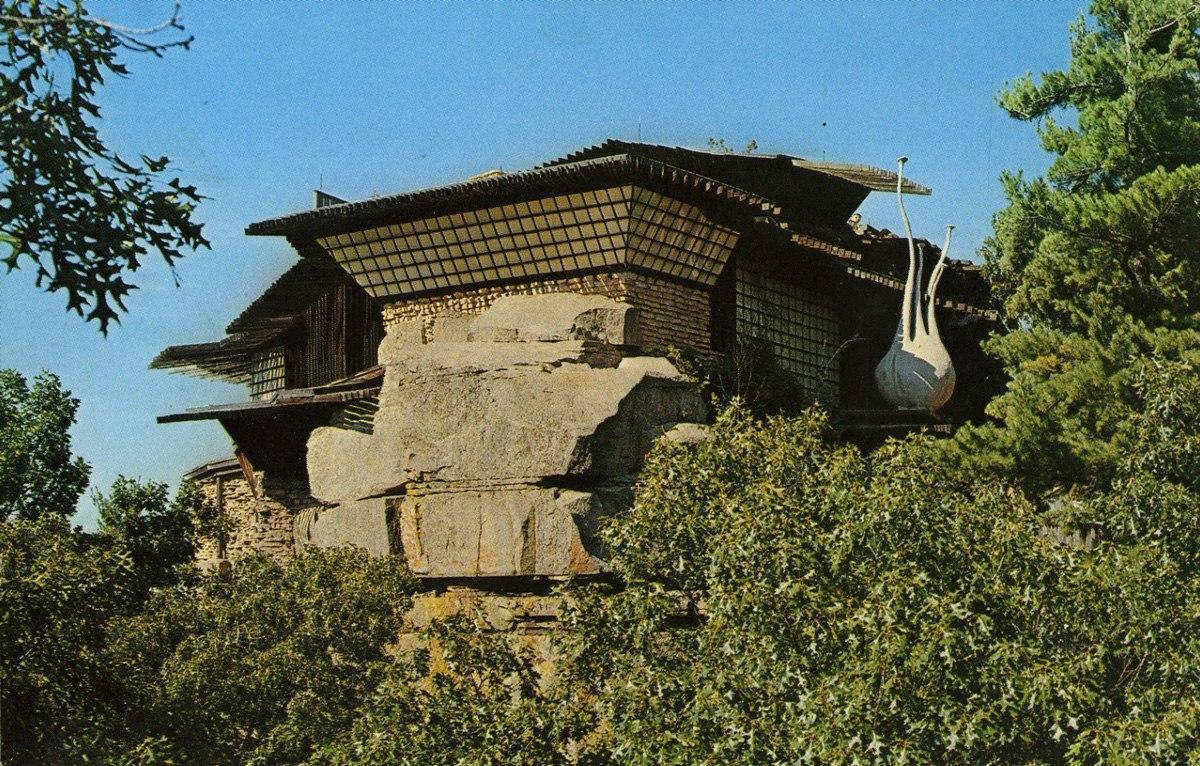 خانهای در صخره+تصاویر