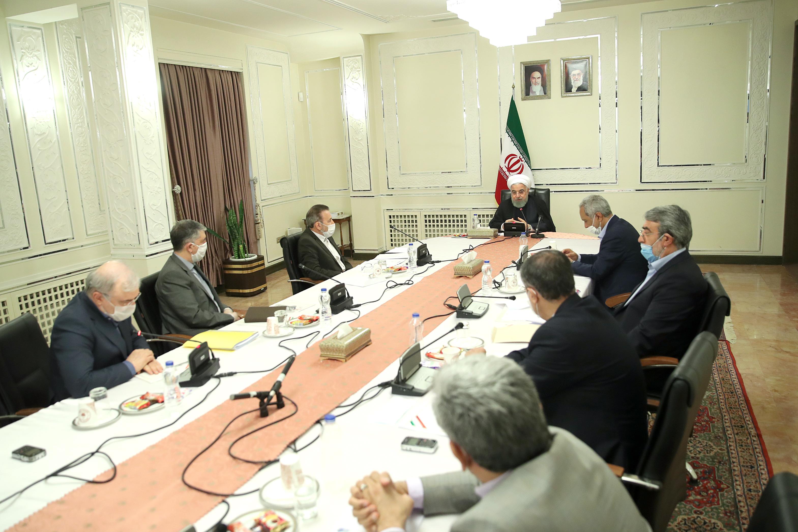 جلسه روسای کمیتههای تخصصی ستاد ملی مقابله با کرونا برگزار شد