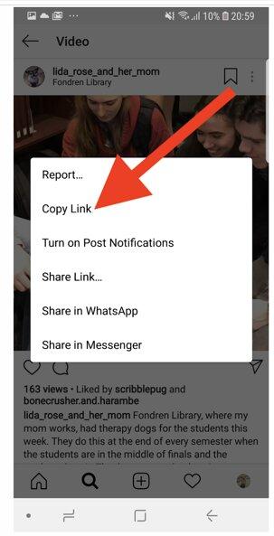 چگونه ویدئوهای اینستاگرام را روی گوشی اندرویدی خود ذخیره کنیم؟
