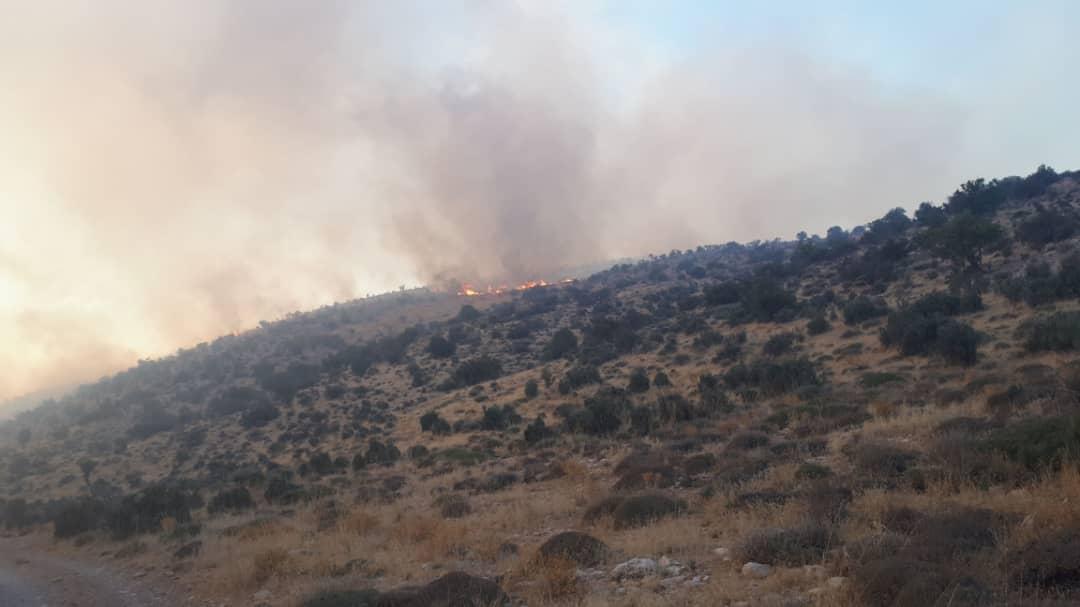 مهار آتش کوه سیاه دشتستان