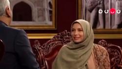 فریبا نادری: گریه کردم تا شوهرم من را گرفت! + فیلم