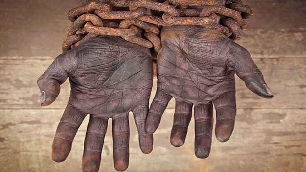 برده های سیاهپوست
