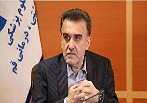،محمدرضا قدیر رئیس دانشگاه علوم پزشکی قم