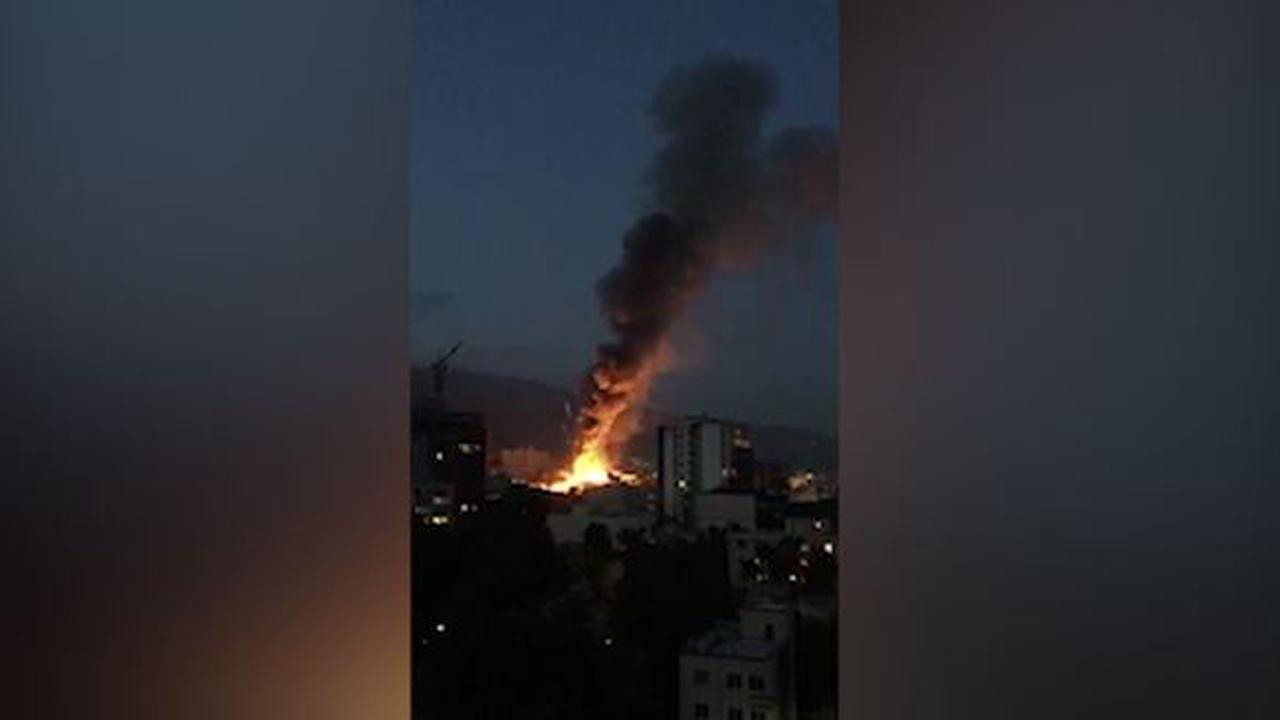 انفجار در یک مرکز درمانی