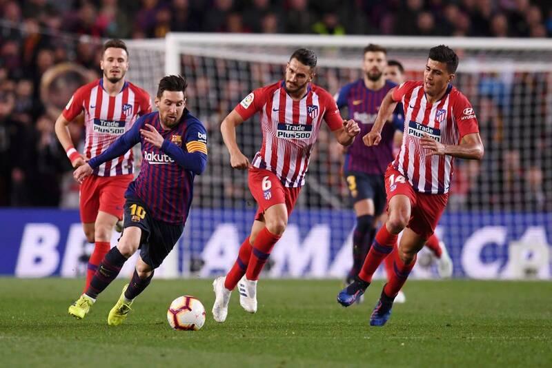 ترکیب بارسلونا و اتلتیکو مادرید مشخص شد