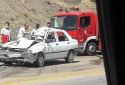 سانحه رانندگی در گردنه اسد آباد جان یک نفر گرفت
