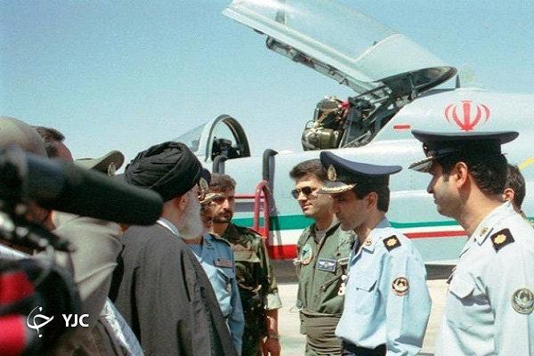 جنگنده صاعقه؛ گردباد ایرانی در آسمان منطقه + تصاویر