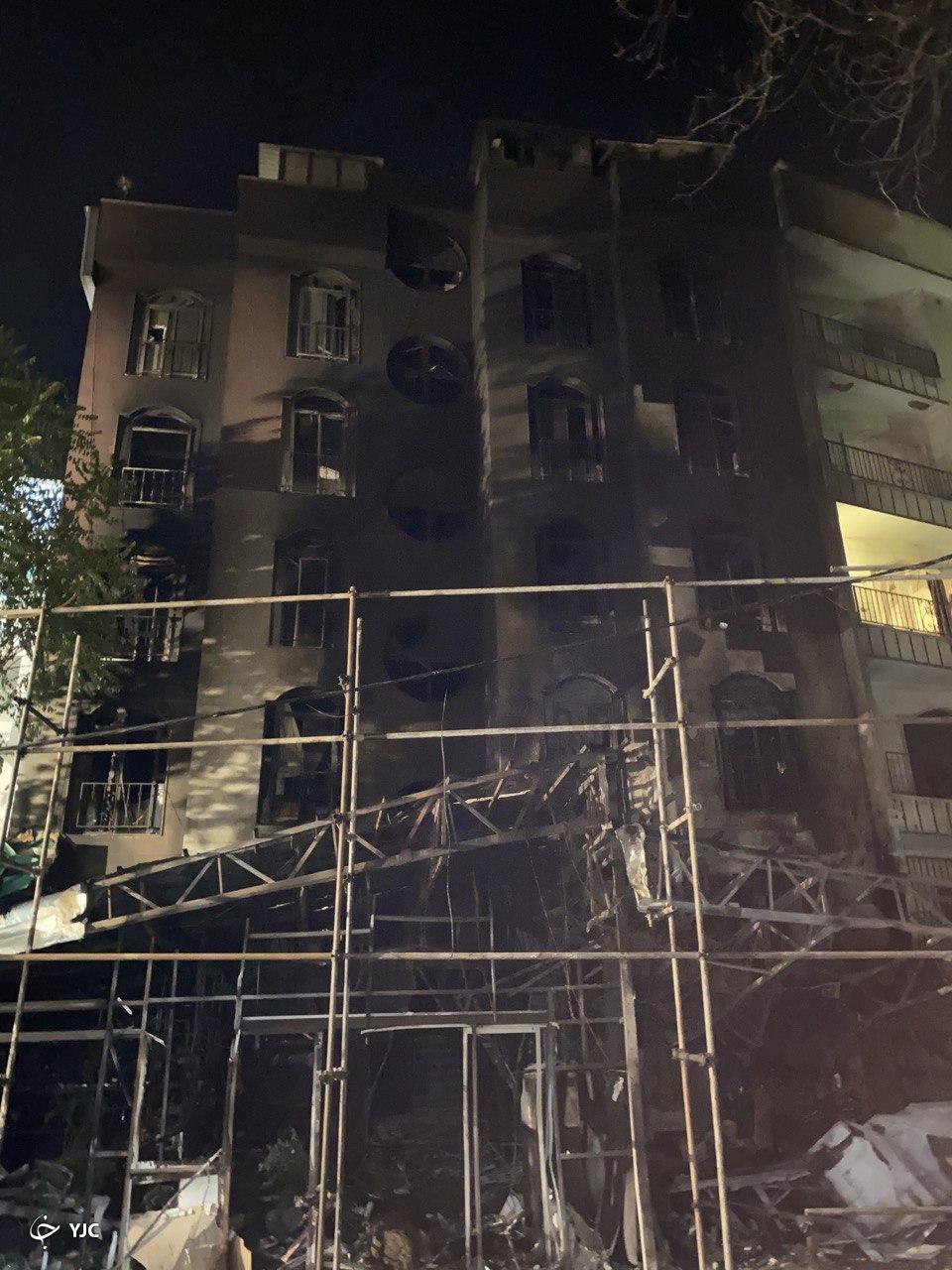 انفجار در خیابان شریعتی تهران + فیلم و تصاویر