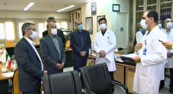 ارائه مطلوب خدمات درمانی در بیمارستان امام رضای تبریز