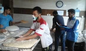 بازرسی از نانوایی های صالح آباد
