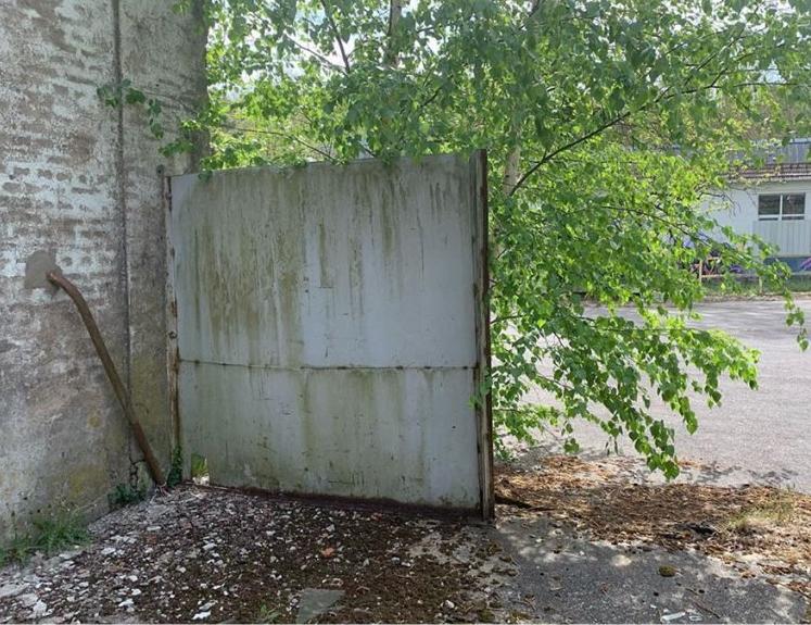 خرابههای شهری که با دستان هنرمند فرانسوی زنده شد