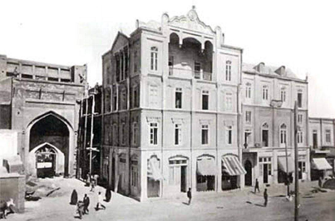 اولین چهار طبقه مشهد کجا ساخته شد؟
