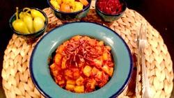 آموزش آشپزی؛ از کله پاچه خانگی و کباب برگ با طعم آناناس تا دو پیازه آلو + تصاویر