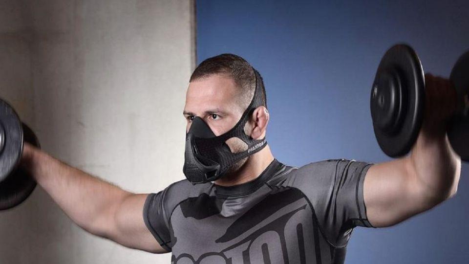 ورزش کردن با ماسک