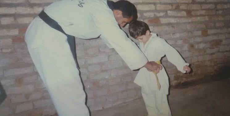 وقتی پدر بر روی تاتامی داور پسرش شد! + عکس