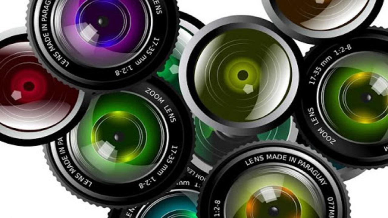 انواع لنز دوربین