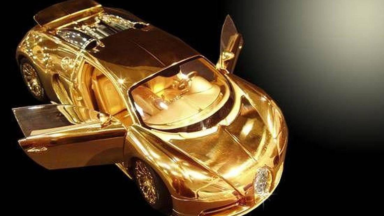 خودروی از طلا که چشمها را خیره میکند