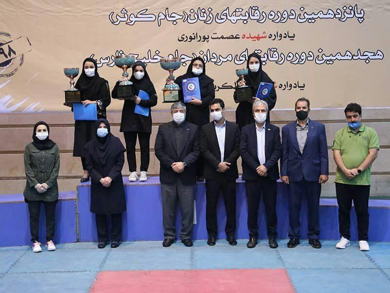 حضور نماینده یزد در مراسم اهداء کاپ قهرمانان لیگ تکواندو بانوان کشور