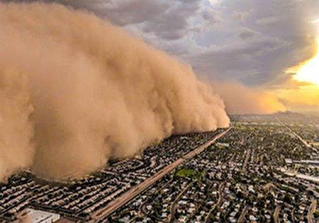 وقوع طوفان آخرالزمانی در سیستان و بلوچستان + فیلم