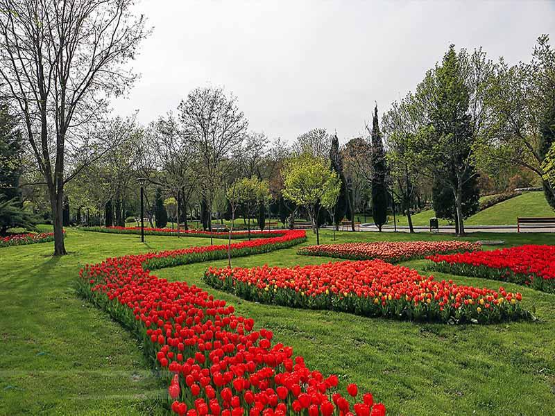 افتتاح پارک گلها در بهار