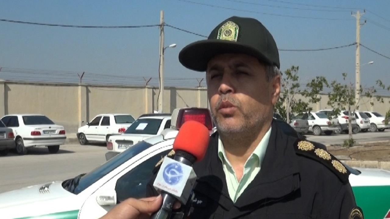 سرهنگ جوشن سهرابی رئیس پلیس آگاهی استان بوشهر