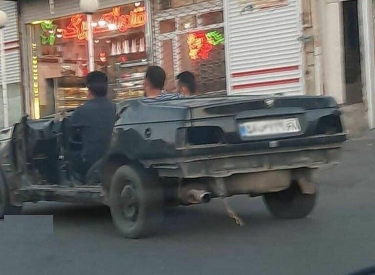 خودرو پرشیا کروک! + عکس