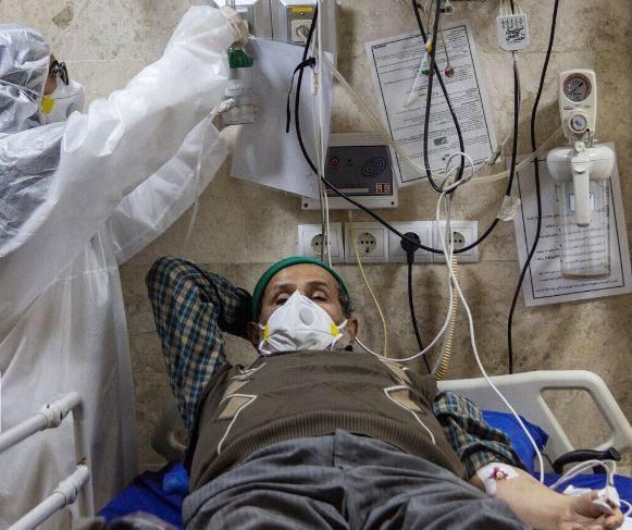 مبتلایان به کرونا در بیمارستانها