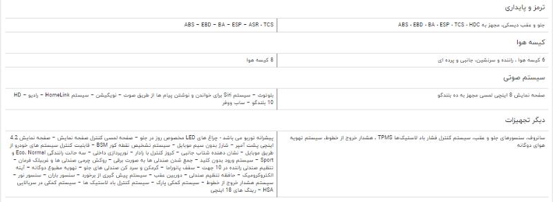مقایسه خودرو هاوال H ۹ و لکسوس NX ۲۰۰ t