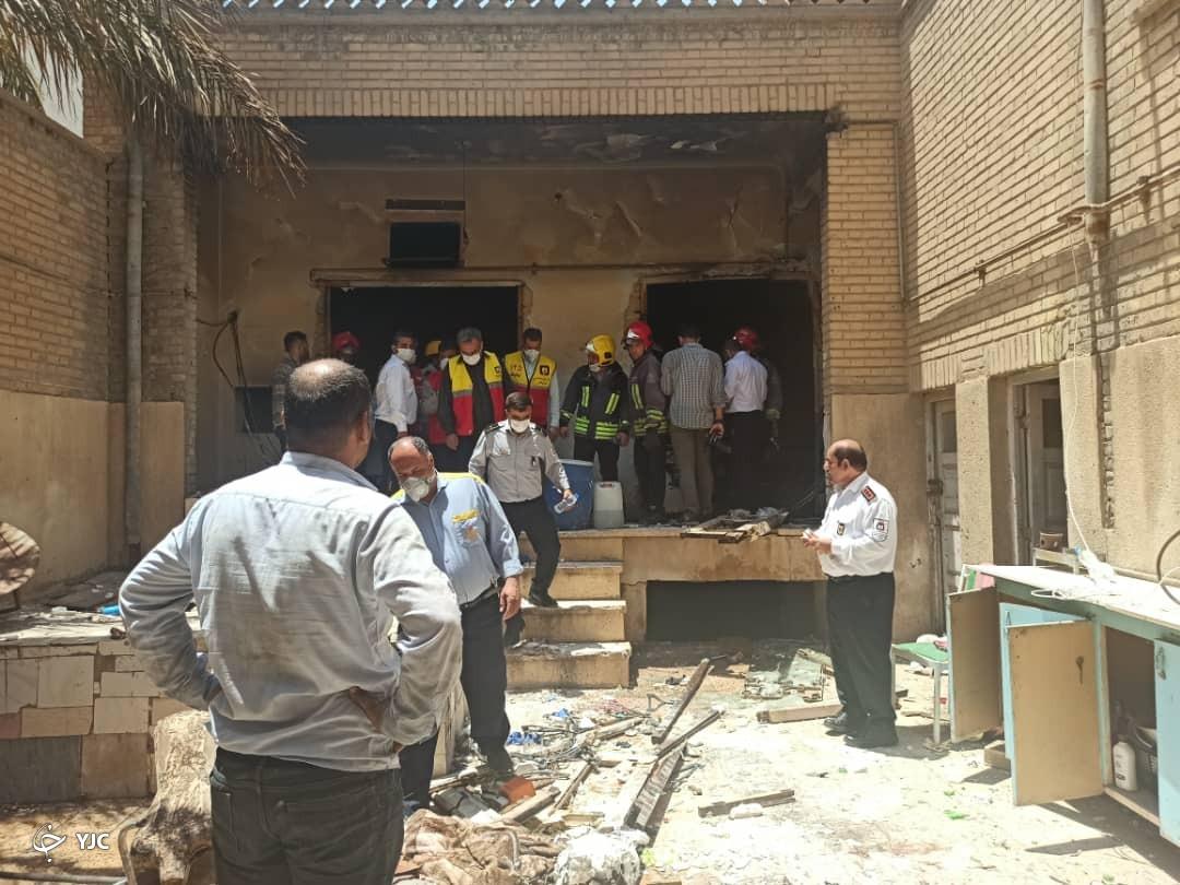 انفجار گاز در یک کارگاه خیاطی حادثه آفرید/ ۵ نفر مصدوم شدند