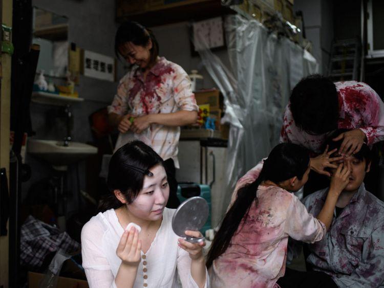افتتاح خانه وحشت ماشین رو در ژاپن؛ پول بدهید تا بترسید