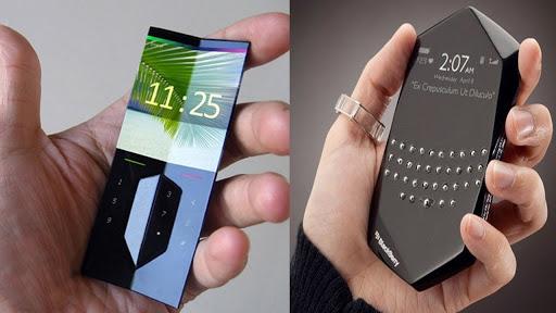 طراحی گوشی های هوشمند در اینده