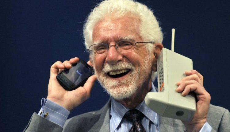 مارتین کوپر سازنده اولین تلفن همراه بی سیم