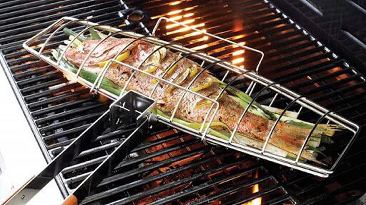 چگونه ماهی کبابی جذاب درست کنیم؟