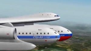 طرحی هوشمندانه برای حمل و نقل هوایی در آینده! + فیلم