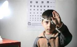 آغاز طرح غربالگری بینایی سنجی کودکان در اسد آباد