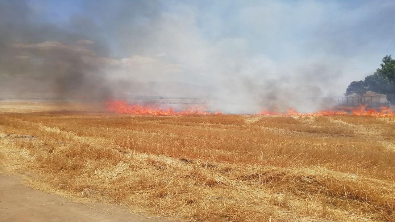 آتش سوزی تریلی سواری کش در جاده نیشابور/ اتصال برق منزل مسکونی را به آتش کشید