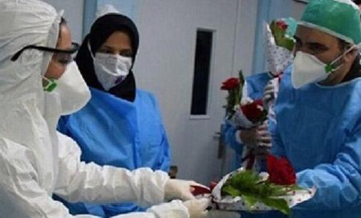 تجلیل از مدافعان سلامت گروه آموزشی مراقبتهای ویژه و ریه در تبریز