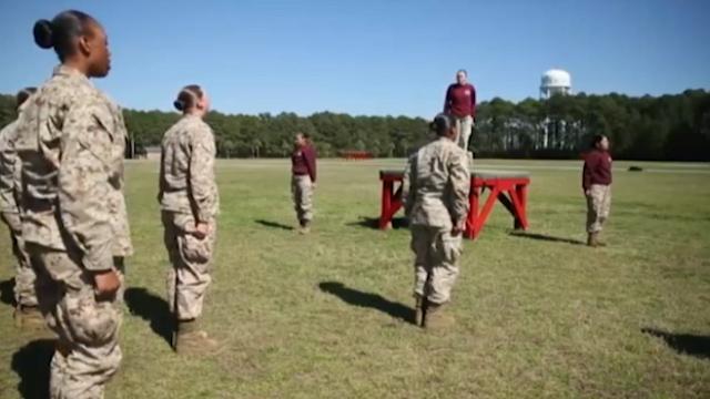 «ونسا گیلن» سرباز زن ارتش آمریکا