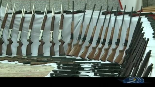 باندهای قاچاق اسلحه